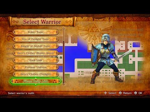 Hyrule Warriors - Termina Map - Moon C1 (Link's Fierce Deity Link)