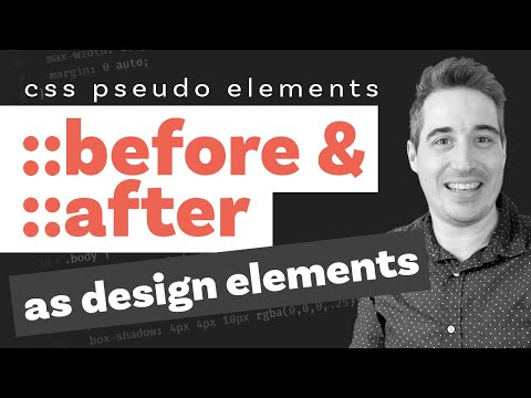 CSS Before and After pseudo elements explained - part three: as design elements