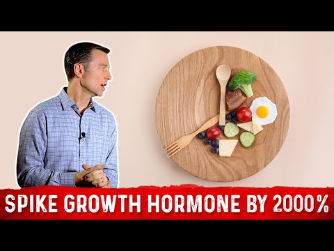 Use Intermittent Fasting to Spike Your Growth Hormone by 2000 Percent