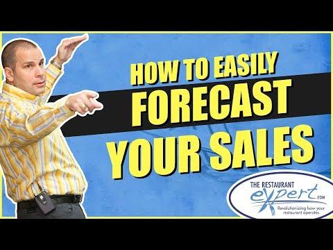 Restaurant Management Tip - How to Easily Forecast Restaurant Sales #restaurantsystems