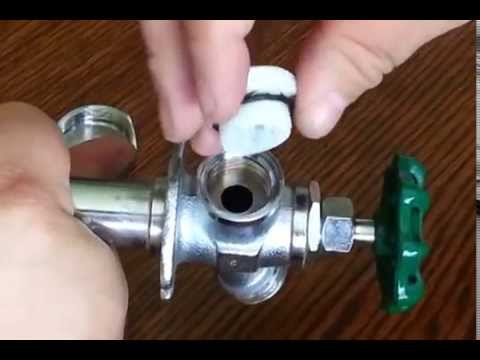 How to fix anti-siphon valve on outdoor faucet