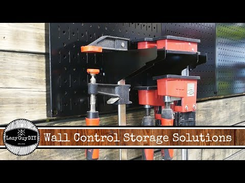 Wall Control Clamp & Battery Storage Solutions