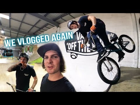 INDOOR BMX SESSION GETS HEATED!