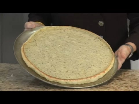 Thin Crust Pizza Dough Made With Egg & Milk : Italian Recipes