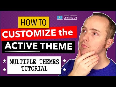Multiple Themes Troubleshooting: How To Make Changes To Non-Active Themes