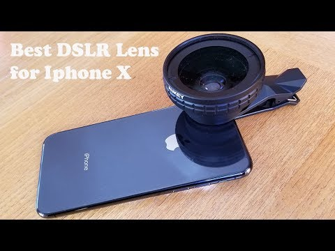 Best DSLR Lens for Iphone X - Fliptroniks.com