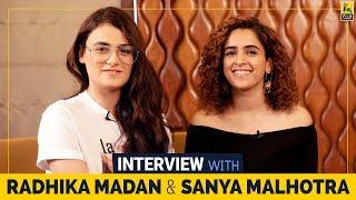 Interview with Radhika Madan and Sanya Malhotra | Sneha Menon Desai | Film Companion