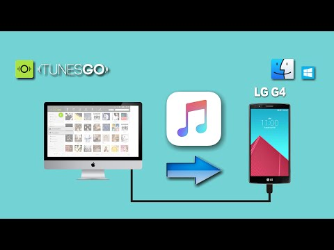 How to Put Songs from Mac to LG G4, Sync Music from Computer to LG G4  Beat