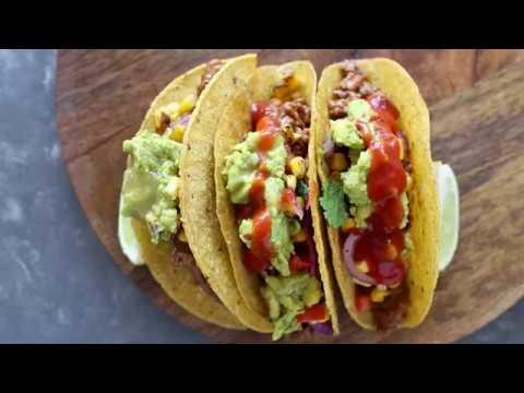 Easy Taco Bar Recipe (Super Bowl Idea!)
