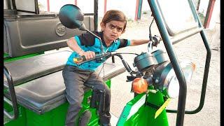 छोटू की खटारा रिक्शा | CHOTU ki KHATARA | Khandesh Hindi Comedy | Chotu Comedy Video