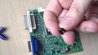 Samsung Syncmaster 2443BW Repair - Complete