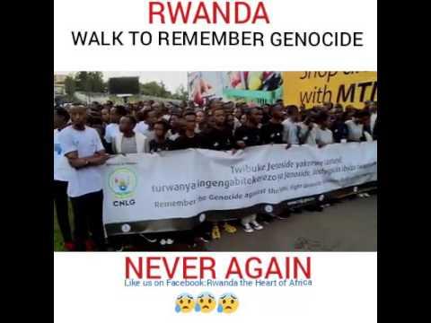 RWANDA GENOCIDE-WALK TO REMEMBER