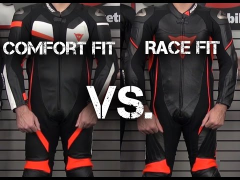 Race Suit Comfort Fit VS. Race Fit
