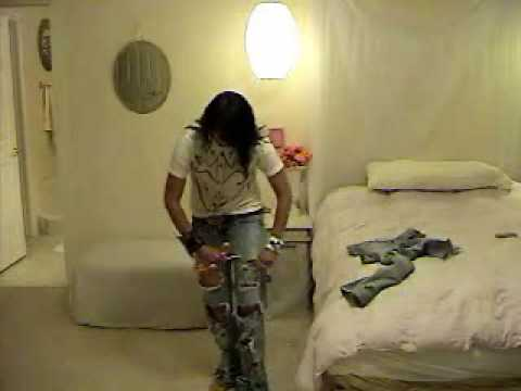 How To Distress and Cut Up Jeans   Kandee Johnson