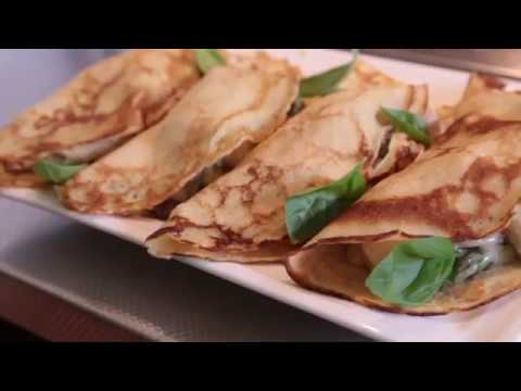 Chicken Mushroom and asparagus Crepe part 2