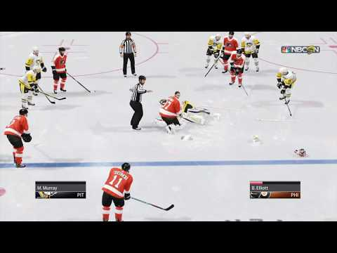 NHL 18 Goalie Fight