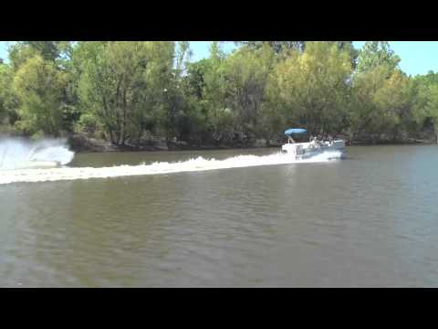 Pontoon ski test- How much power is enough.