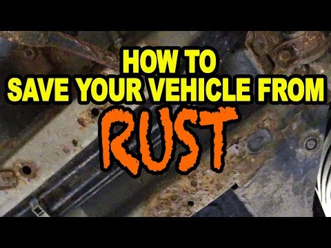 How To Save Your Vehicle From Rust!