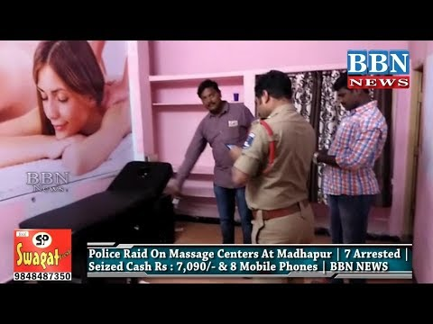 Xxx Mp4 Police Raid On Massage Centers At Madhapur 7 Arrested Seized Cash Rs 7 090 3gp Sex