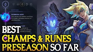 Best Preseason Runes And Champs So Far In 7.22 (league Of Legends)