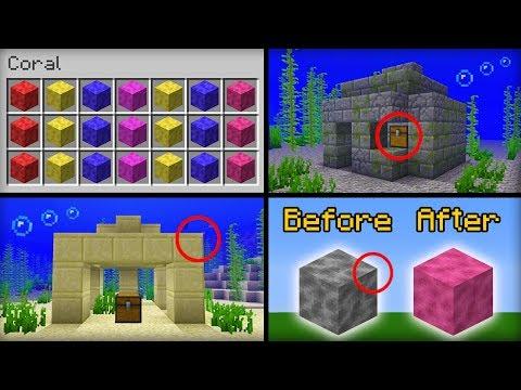✔ Minecraft 1.13 Update - New Features That Were Added
