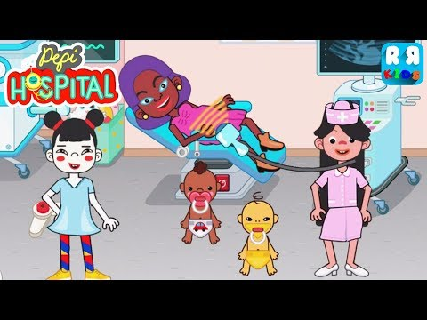 Pepi Hospital - Fun New Baby Born Care for Kids