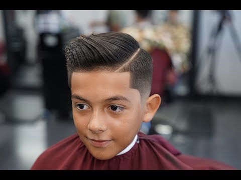 Barber Tutorial : THE COMB OVER! drop fade