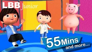 Trampoline Song | And Lots More Original Songs For Kids | From LBB Junior!