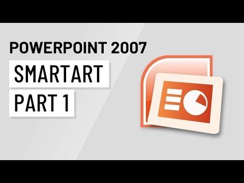 PowerPoint 2007: Using SmartArt Part 1
