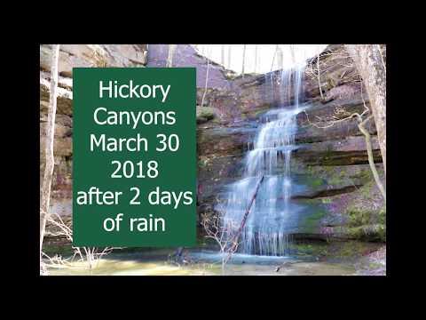 Hickory Canyons Natural Area