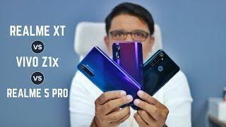 Realme XT Vs 5 Pro Vs Vivo Z1X - What should you Buy