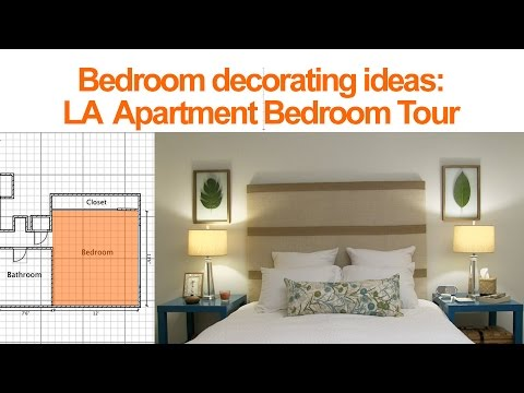 Bedroom Decorating Ideas: LA Apartment Bedroom Tour