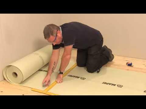 How To Install Mapei Mapetex Anti-Fracture Membrane (437880) - Tile Mountain