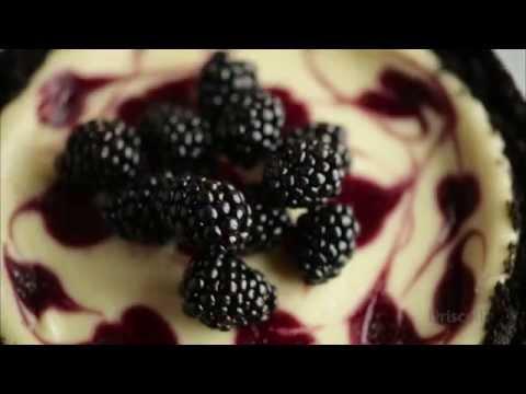 Blackberry Swirl Cheesecake by Driscoll's Berries