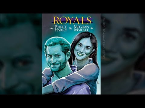 New comic book about Prince Harry, Meghan Markle's romance