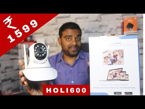 WiFi IP Camera ₹1599 Only, Flipkart Sale, Redmi Note 5 Pro Orea 8.0, Canon 1500D, Tech Prime #123