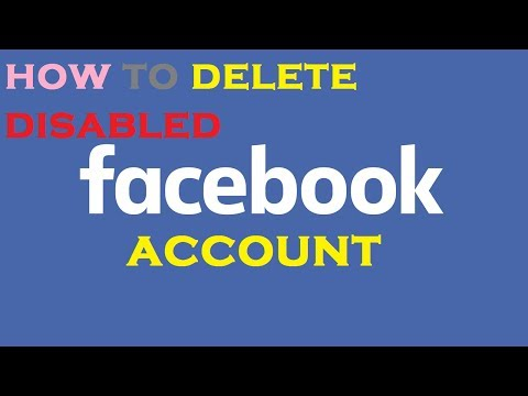 How To Delete Disable Facebook Account