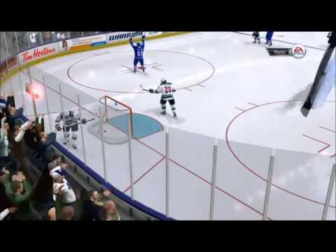 NHL 14 goalie goal