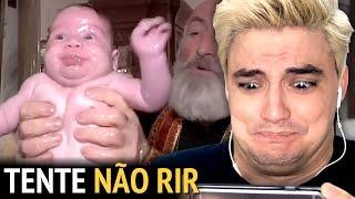 DESAFIO TENTE NÃO RIR - PAREM DE TORTURAR BEBÊS!