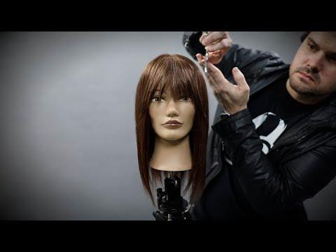 How To Cut Curtain Bangs Hair Tutorial | MATT BECK VLOG SEASON 2 EPISODE 8