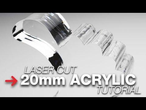 Laser Cutting Thick Acrylic | Acrylic Cutting Tutorial | Trotec