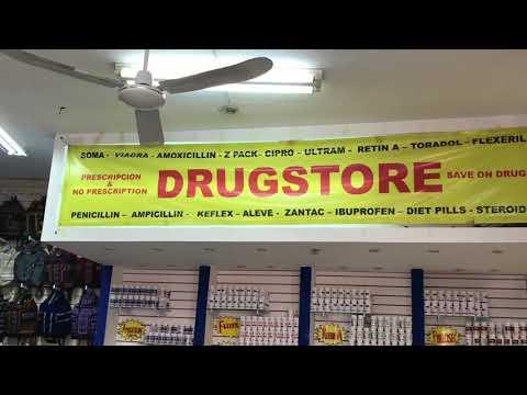 La pharmacia Mexican Pharmaceuticals Drug Store