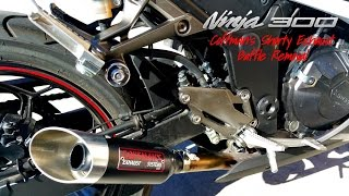 Coffman's shorty slip on exhaust system install