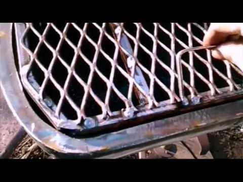 Bbq pit -propane tank-