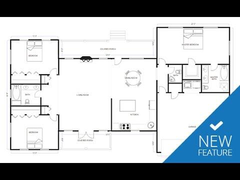 New CAD & Floor Plan Features in SmartDraw