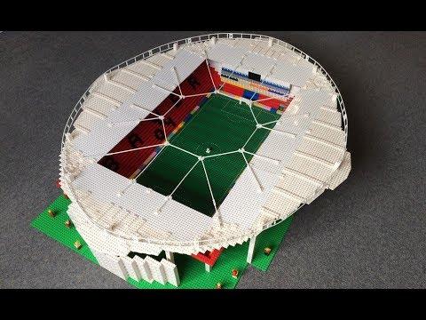 Bayer Leverkusen Stadium built in Lego!!!