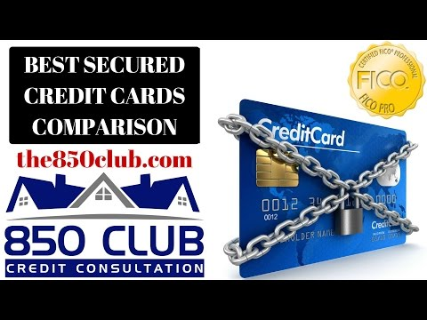 The Best Secured Credit Cards For Low Credit Scores In 2018 Comparison - Credit Fix Secured Cards