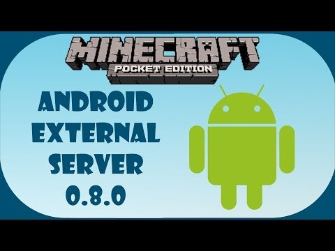 How to Add External Servers Android MCPE 0.8.0