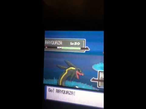 Pokemon platinum how to get rayquaza