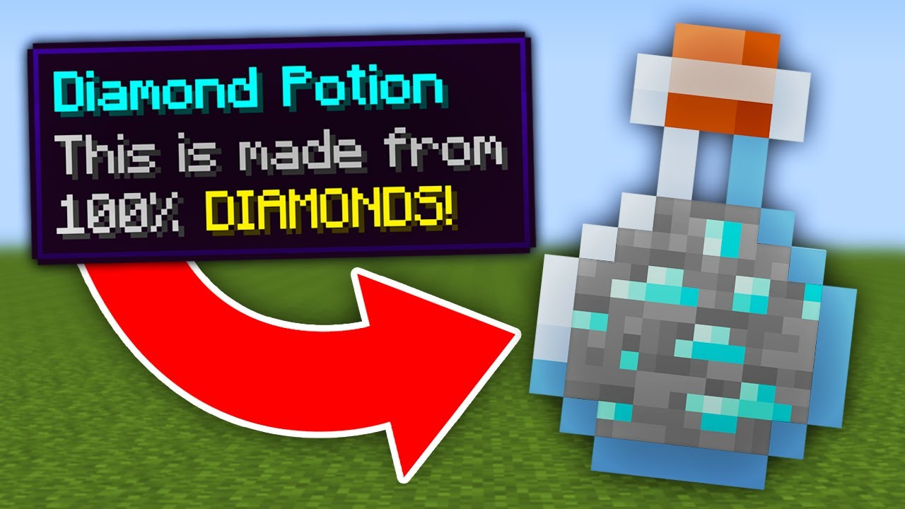 Minecraft, But All Ores Are Potions...
